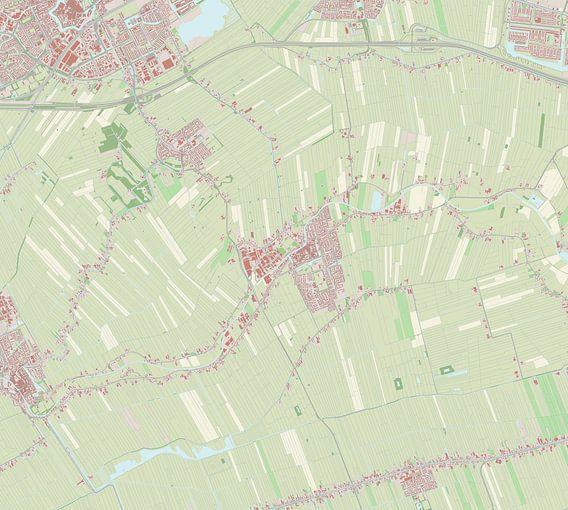 Kaart vanMontfoort van Rebel Ontwerp