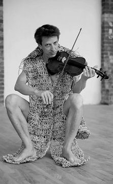 Le violoniste sur Heike Hultsch