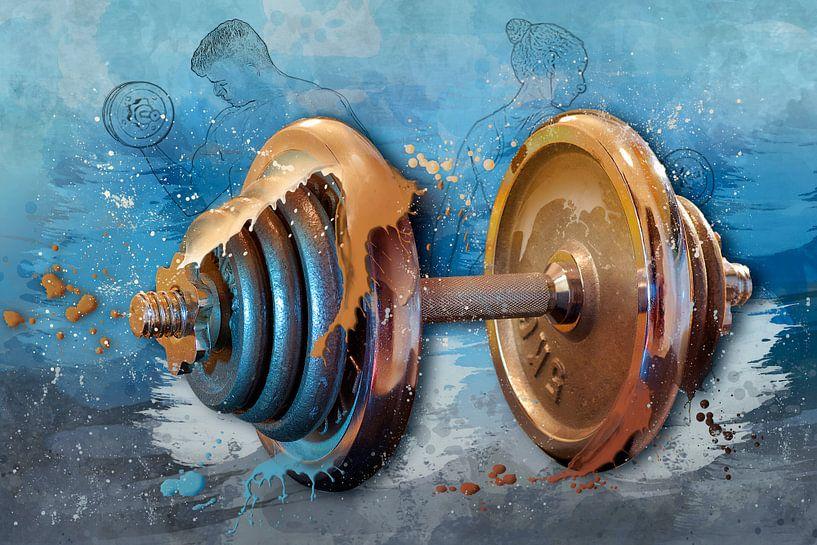 Sport trifft Splash - Body Building von Erich Krätschmer