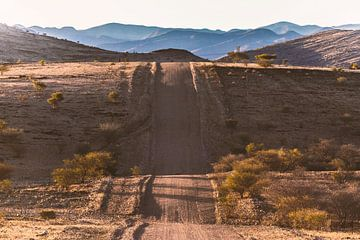 Strasse in Namibia van Felix Brönnimann