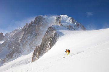 Tiefschneefahren am Mont Blanc von Menno Boermans