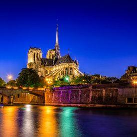Notre Dame, Parijs van Johan Vanbockryck
