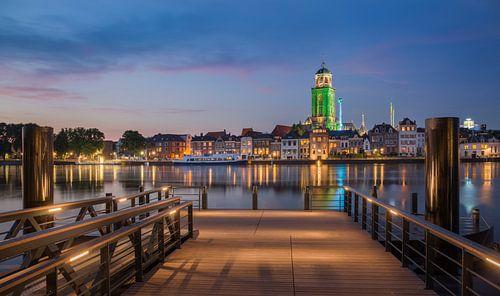 Deventer zomerkermis vanaf de pier van
