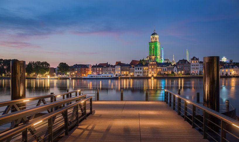 Deventer zomerkermis vanaf de pier van Edwin Mooijaart