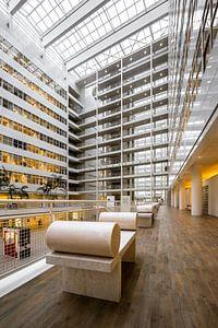 Stadhuis van Den Haag in Atrium van
