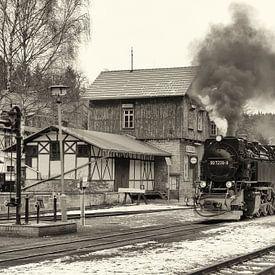 Stoomtreinen in de Harz, tijden van weleer herleven van Hans Brinkel
