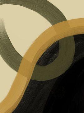 Modern Abstract - Schleife von YOPIE illustraties
