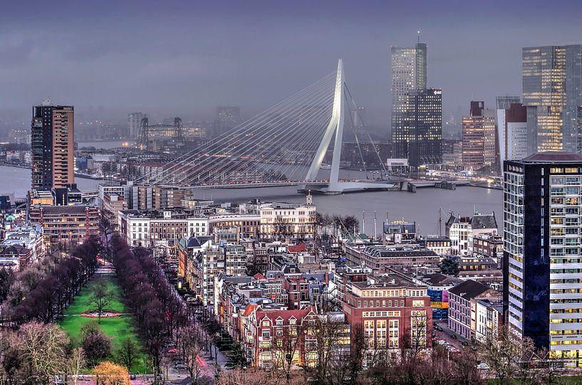 Scheepvaartkwartier Rotterdam van Frans Blok