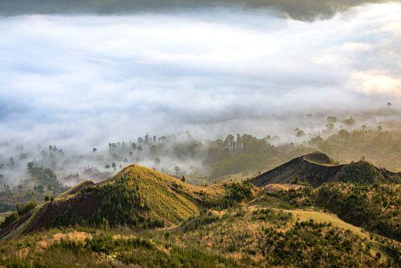 Blick auf den Mount Batur von Merijn Koster