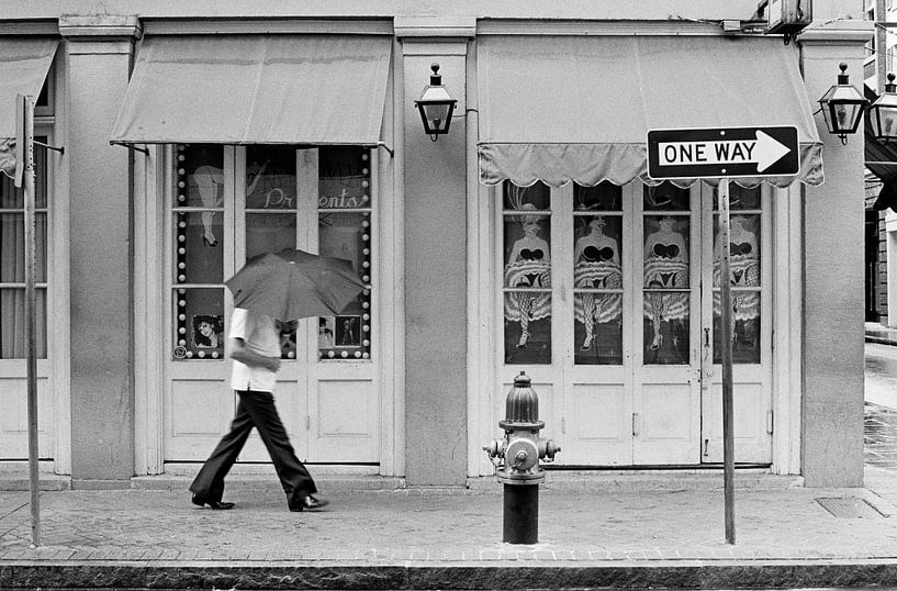 New Orleans - Regenachtige dag van Raoul Suermondt