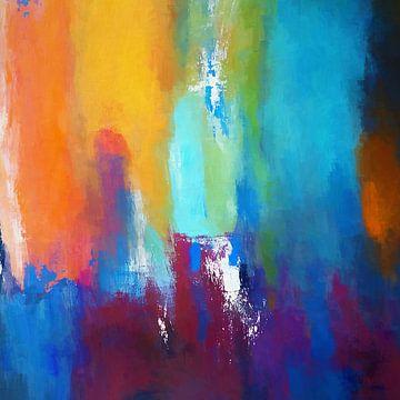 Abstracte Samenstelling 1012 van Angel Estevez