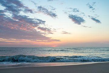 Scheveningen Sunset van Danielle Bosschaart