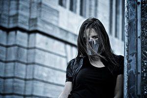 Wind achter het masker