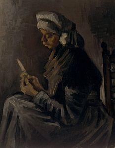 Vincent van Gogh. Boerin