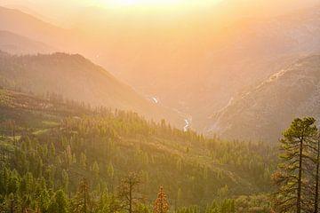 Sequoia Park Pass bei Sonnenuntergang von Robert Styppa