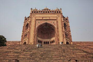 India. Buland Darwaza is de grootste toegangspoort ter wereld van Tjeerd Kruse