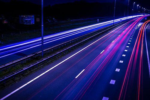 Night Traffic von Mario Kuijpers