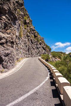 Straße auf der Kanarischen Insel Teneriffa von Rico Ködder
