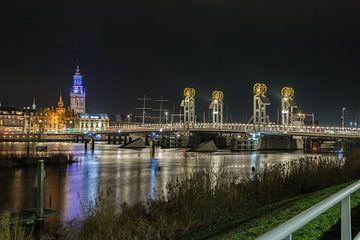 De Kamper brug met de Gouden wielen von