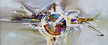 Abstract art sur Gena Theheartofart