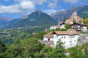 Schenna in Zuid-Tirol van Peter Eckert