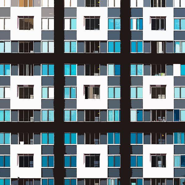 Cut-out foto van Talia Nijmegen van Maerten Prins