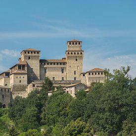 Castello di Torrechiara près de Parme, Italie sur Patrick Verhoef