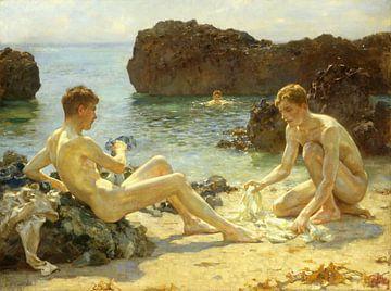 Die Sonnenanbeter, Henry Scott Tuke