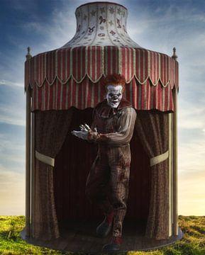 Clown de cirque _Tente HS sur H.m. Soetens