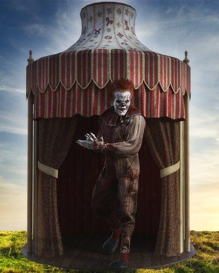 Circus Clown _Tent HS