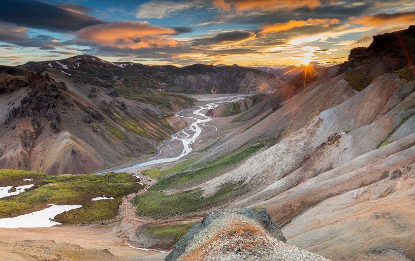 IJsland Landmannalaugar van Henk Meeuwes