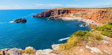 Bucht an der West Algarve Portugal von Susanne Bauernfeind