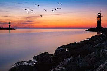 Hafeneinfahrt Warnemünde von Tilo Grellmann | Photography