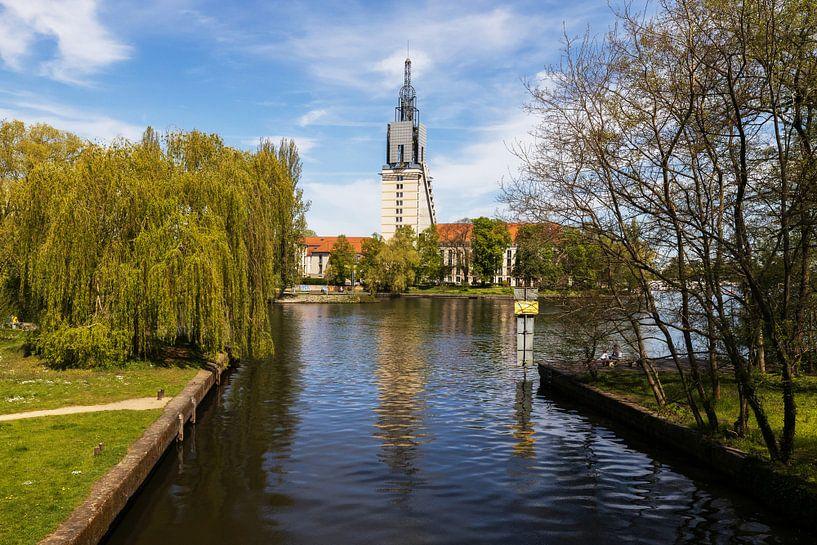 La ligne d'horizon de Potsdam sur la Havel sur Frank Herrmann