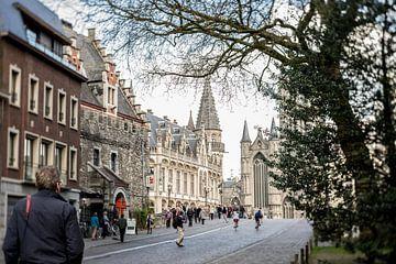 Op wandeling in Gent III van Ronald De Neve