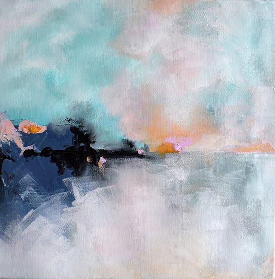 Winter Sunrise van Maria Kitano