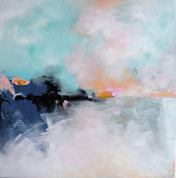 Winter Sunrise von Maria Kitano