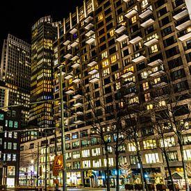 Avond in Den Haag van Carla van Zomeren