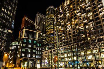 Avond in Den Haag van