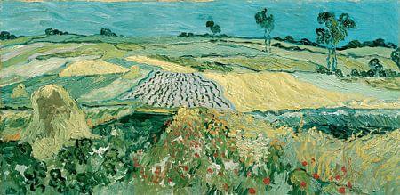 The Plain of Auvers - Vincent van Gogh