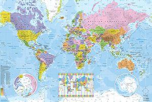 Wereldkaart politiek