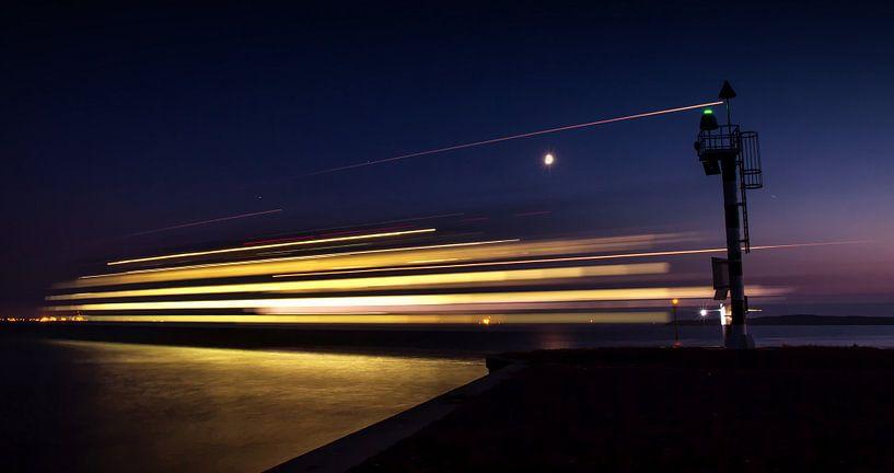 Schip TESO Texel / TESO ship Texel van Justin Sinner Pictures ( Fotograaf op Texel)