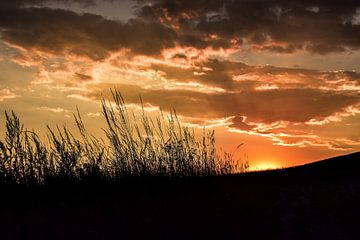 Sonnenuntergang Tschechien von Charlotte de Moet
