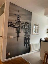 Kundenfoto: Zonsondergang in Haarlem 02 von Arjen Schippers, auf fototapete
