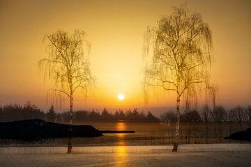 Zonsondergang van Richard Mijnten