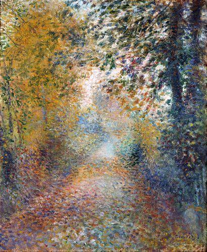 August Renoir. In het bos van 1000 Schilderijen