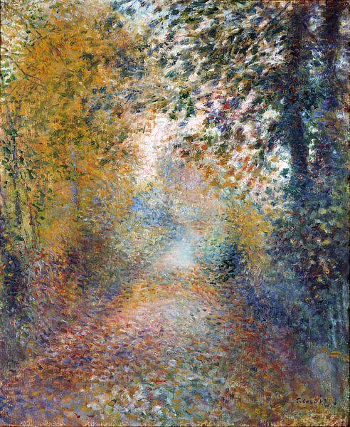 Im Wald – August Renoir von 1000 Schilderijen