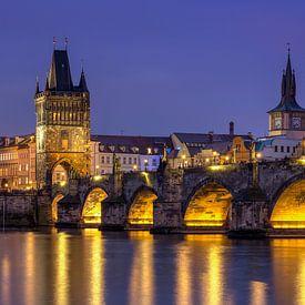 Karlsbrücke, Tschechien von Adelheid Smitt