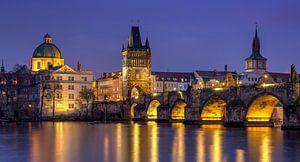 Karelsbrug, Tsjechië van Adelheid Smitt