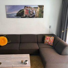 Kundenfoto: Riomaggiore - Cinque Terre von Teun Ruijters, auf leinwand